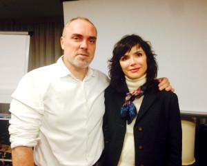 22 октября в Киеве своими профессиональными секретами делился эстетический консультант моделей Филипп Хакида-Писаль.