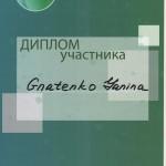311 150x150 Гнатенко Янина Александровна