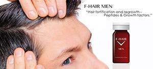 """Новый препарат """"F-hair man"""" для эффективной борьбы с потерей волос"""