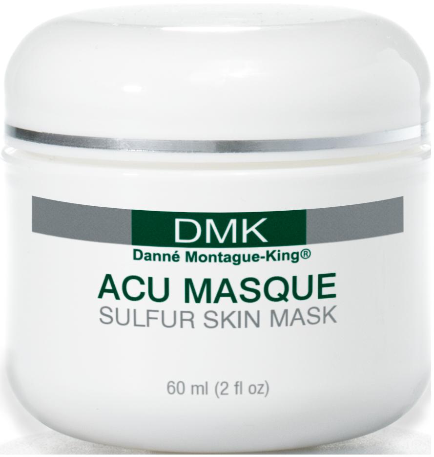 Acu Masque Jar ScrewSilver 60ml ENG DMK S01 440 CRP Профессиональные маски для лица в домашнем применении